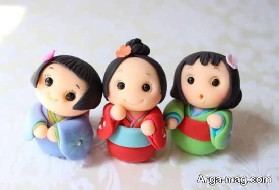 مدل های جدید عروسکهای خمیری
