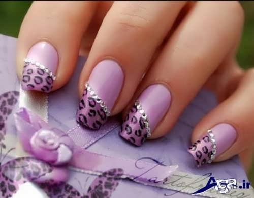 طراحی های زیبا بر روی ناخن
