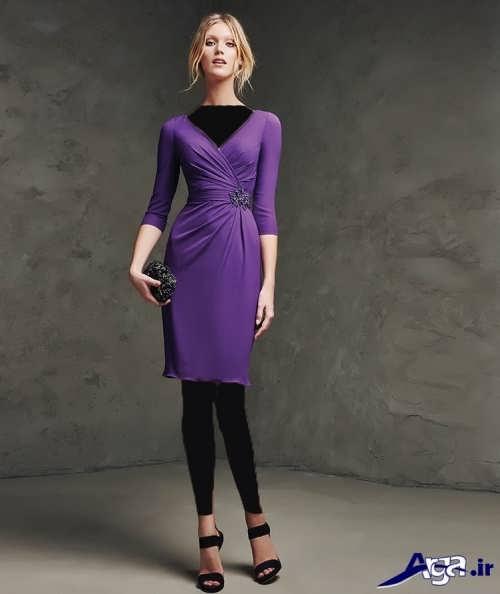 مدل لباس مجلسی ساده و کوتاه