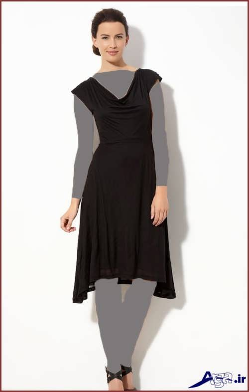 لباس مجلسی ساده کوتاه