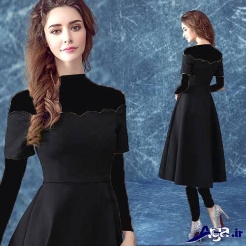 مدل لباس مجلسی ساده کوتاه