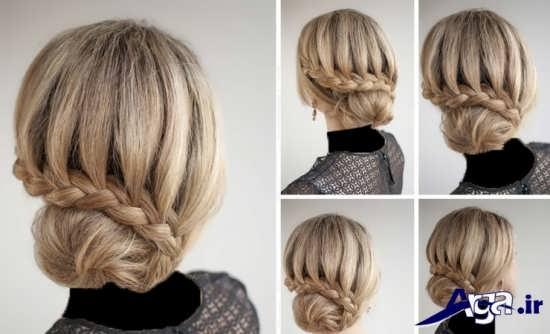 مدل موی بسته شیک