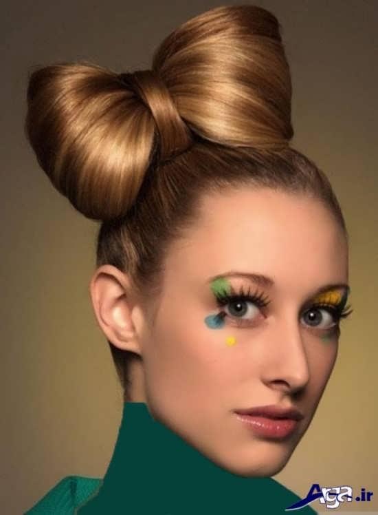 مدل موی زیبا بسته