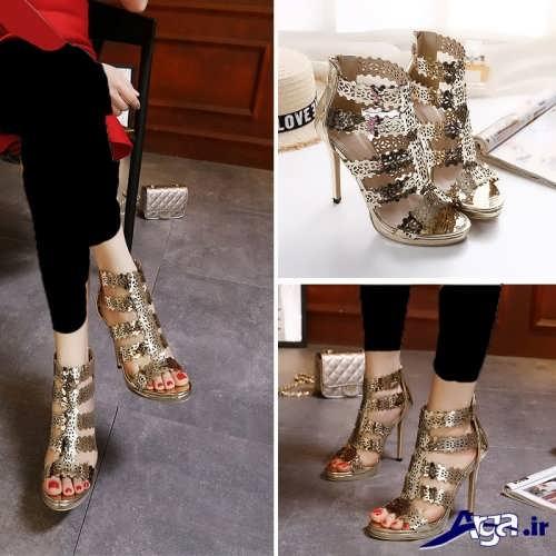 طرح های زیبا و جدید کفش مجلسی