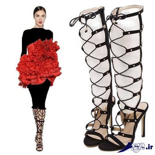 کفش مجلسی زیبا و جدید دخترانه