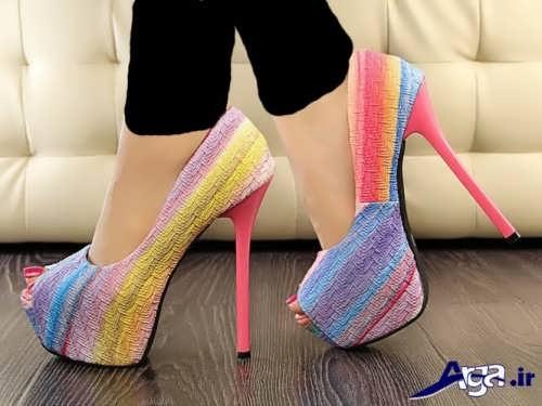 مدل های زیبا و جدید کفش مجلسی دخترانه