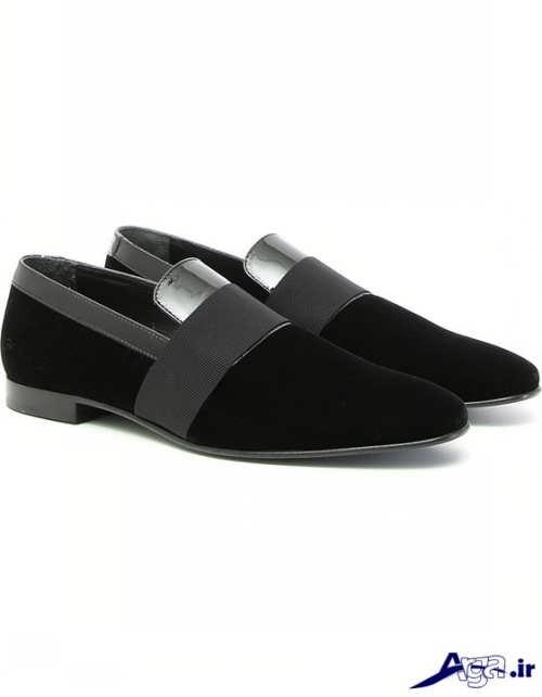 مدل کفش مجلسی مخمل