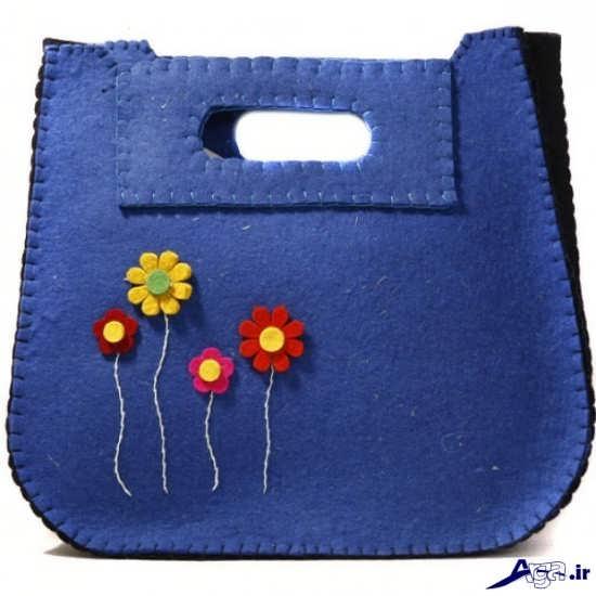 کیف نمدی دخترانه
