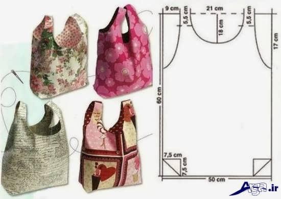 الگوی کیف نمدی زنانه