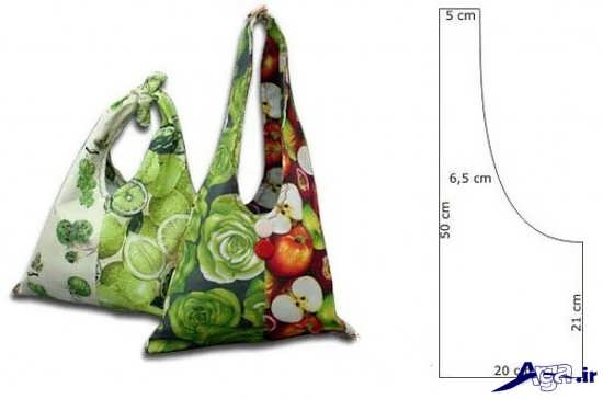 دوخت کیف نمدی با الگو