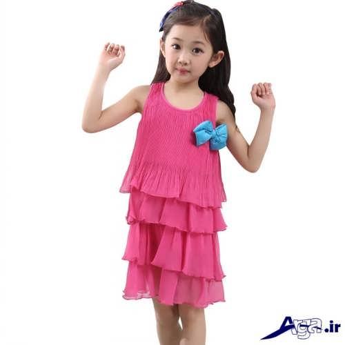 مدل پیراهن تابستانی برای دختر بچه ها