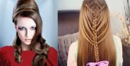 مدل موی نیمه باز زنانه و دخترانه