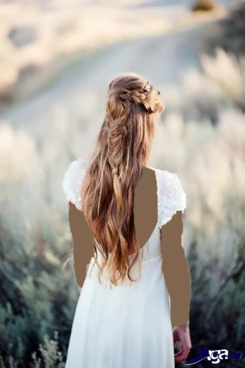 انواع مدل های موی نیمه باز