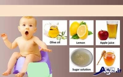 درمان یبوست در نوزادان و کودکان