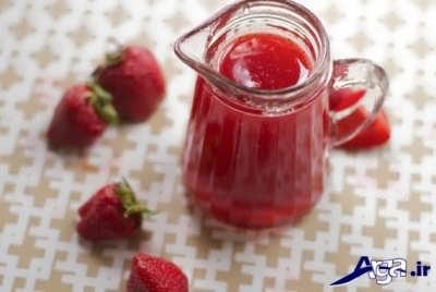 روش تهیه شربت توت فرنگی