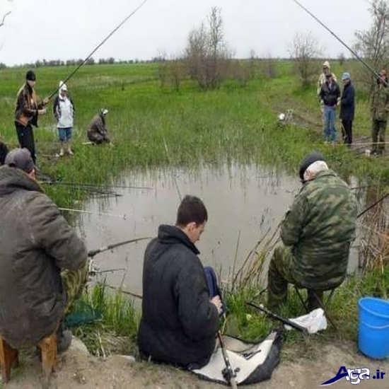عکس خنده دار ماهیگیری