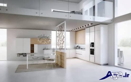 معماری داخلی زیبا و متفاوت برای