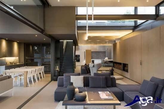معماری نمای داخلی ساختمان