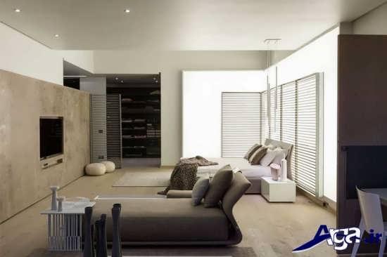طراحی معماری نمای داخلی اتاق خواب