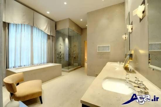 معماری داخلی در حمام های لوکس