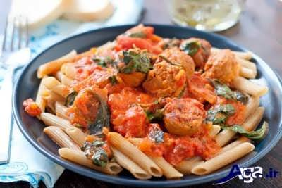 پاستا ایتالیایی لذیذ