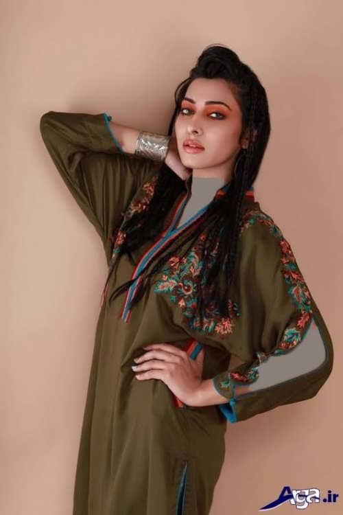 مدل های زیبا مانتو با آستین کیمونو