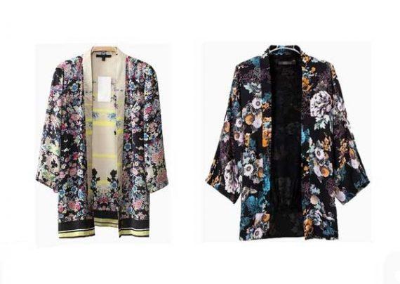 مدل مانتو آستین کیمونو شیک و جدید