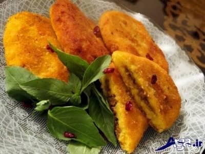طرز تهیه کوکو سیب زمینی + تزیین