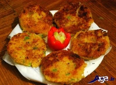 تزیین ساده کوکو سیب زمینی + طرز تهیه کوکو سیب زمینی