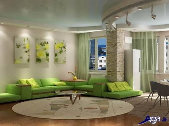 اتاق پذیرای سبز