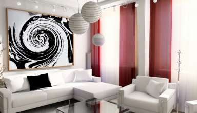 رنگ اتاق پذیرایی