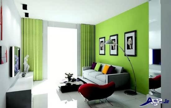 بهترین رنگ برای اتاق پذیرایی