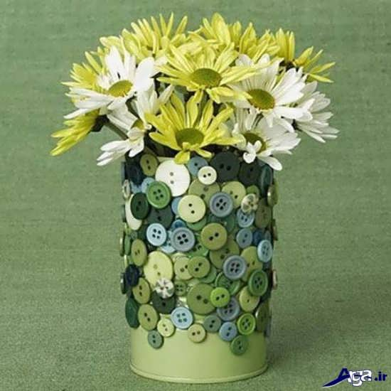 گلدان های تزیینی و ساده