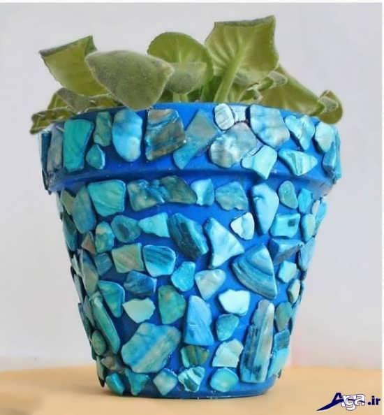 ساخت انواع گلدان تزیینی