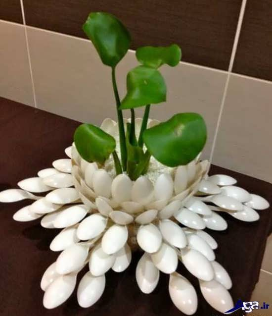 گلدان دست ساز ساده و زیبا