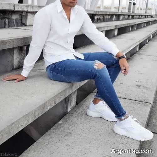 تصاویری از مدل شلوار لی پسرانه