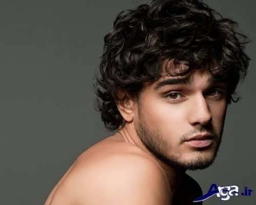 مدل موی فرفری مردانه