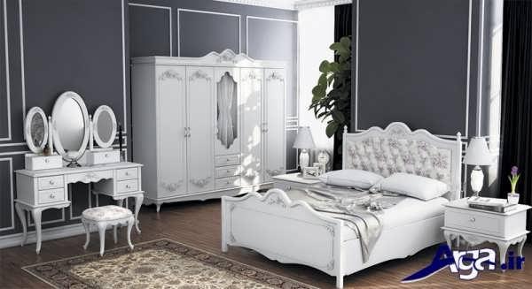 مدل سرویس خواب سفید ترکیه ای