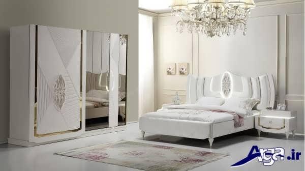 سرویس خواب سفید و روشن