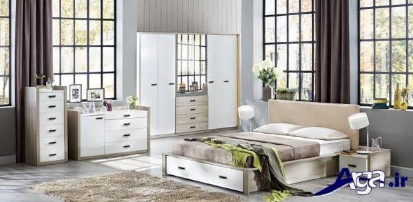 مدل سرویس خواب مدرن و زیبا