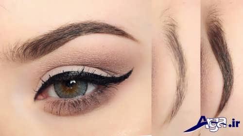 مدل های زیبا آرایش چشم و ابرو