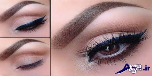 مدل آرایش چشم و ابرو