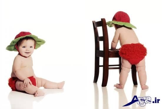 عکس های نوزادان زیبا