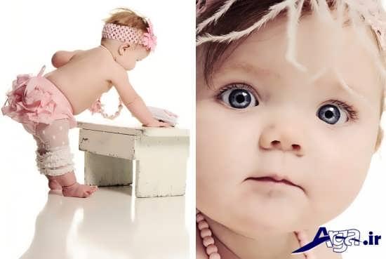 انواع مدل ای ژست برای عکس نوزاد