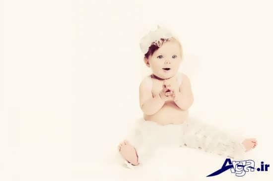 مدل عکس نوزاد زیبا