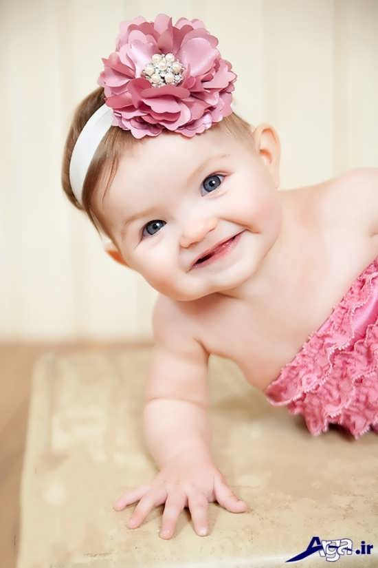مدل عکس نوزاد دختر