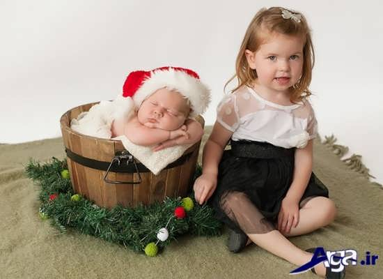 مدل ژست های جالب برای عکس نوزاد