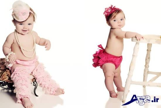 مدل های ژست برای عکس نوزاد