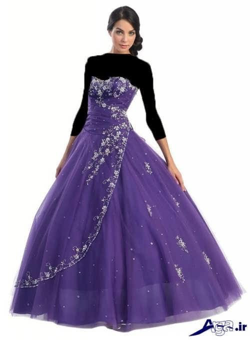 مدل لباس کار شده پرنسسی