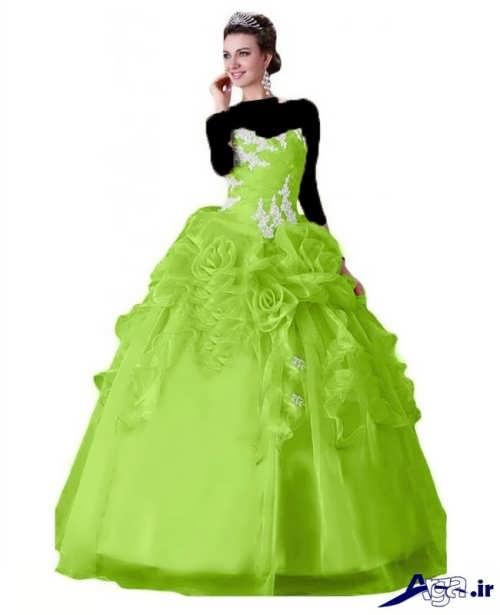 زیباترین نمونه های لباس پرنسسی